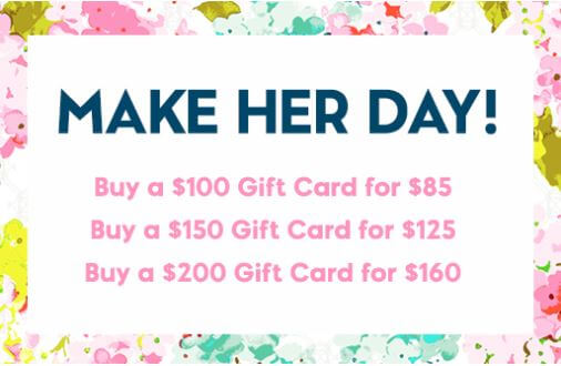 Mother's Day gift card sale on Kipling
