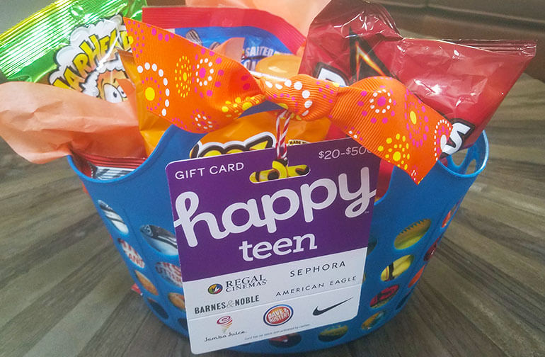 Make Gift Card Baskets For A Good Cause