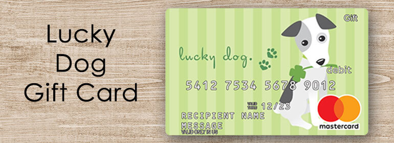 lucky dog gift card