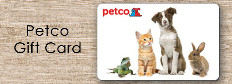 Where to buy petco gift cards