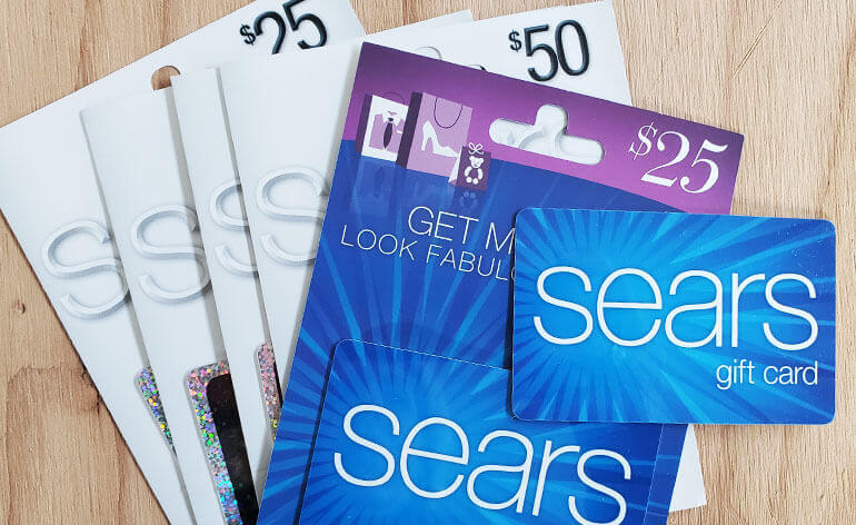 sears gift cards
