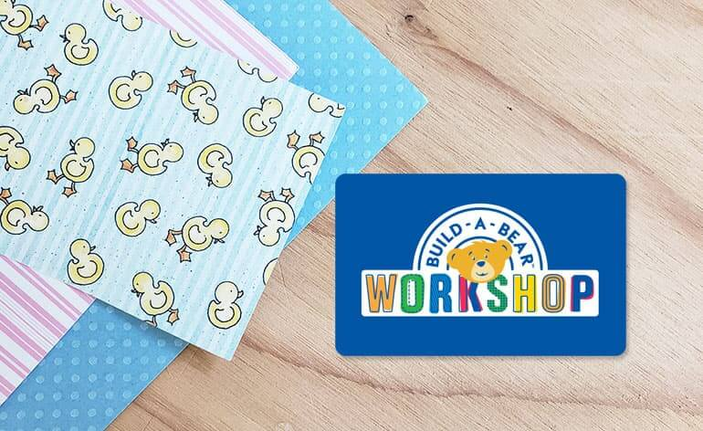 build a bear workshop gift card