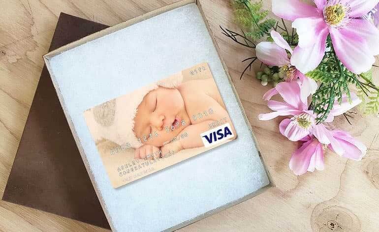 custom visa gift card