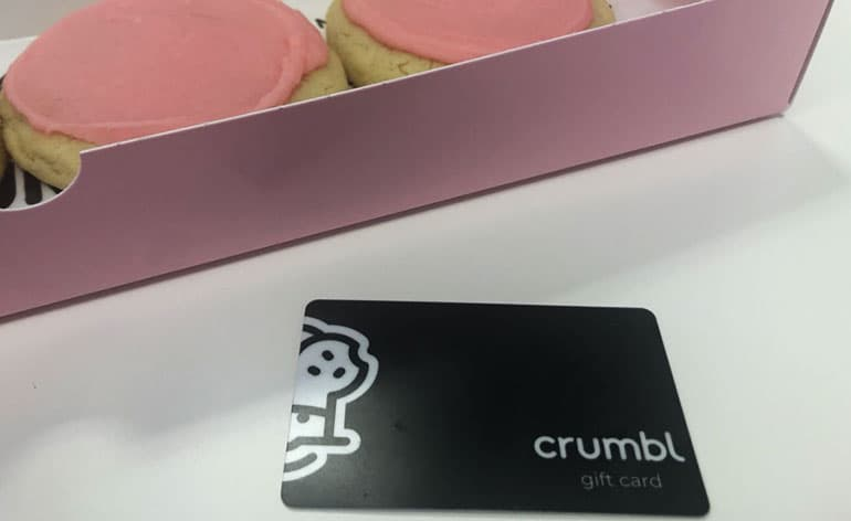 gift card to crumbl