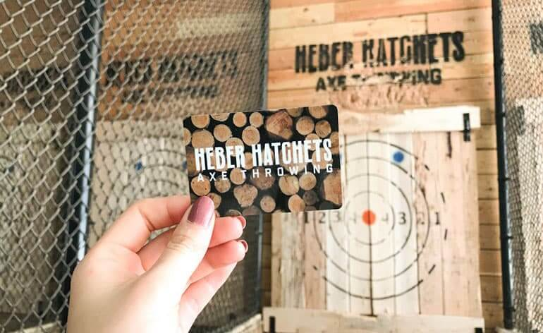 gift card to heber hatchets