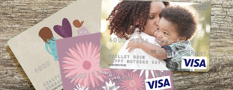 personalized gift card and other gift card designs for mom