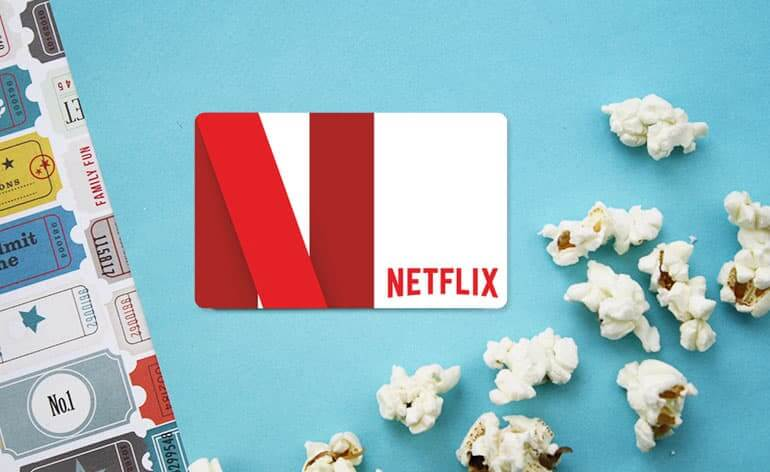 Netflix gift card for summer birthdays