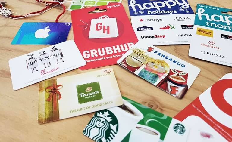 great value gift cards for holiday tipping