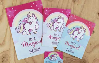 unicorn birthday printable