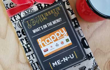 whats on the menu printable