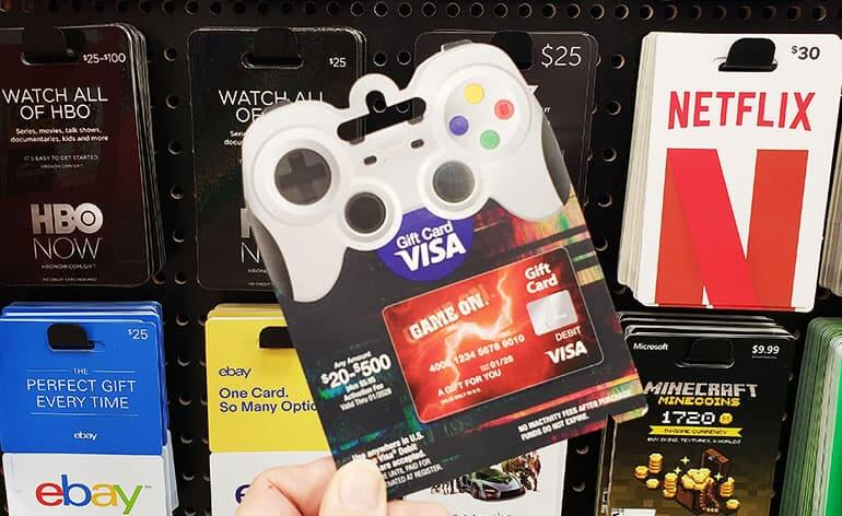 gamer visa gift card