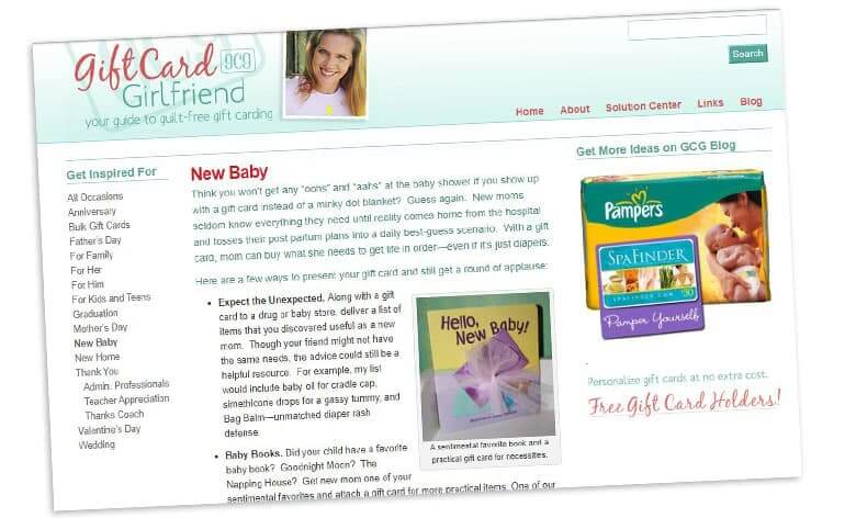 original gift card girlfriend website