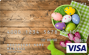 Easter Basket Visa Gift Card