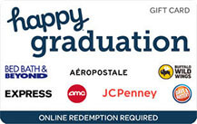 happy graduation gift card