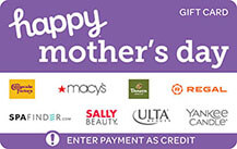happy mothers day gift card