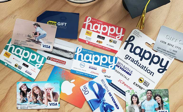Top 10 Gift Cards For High School Graduates Giftcards Com