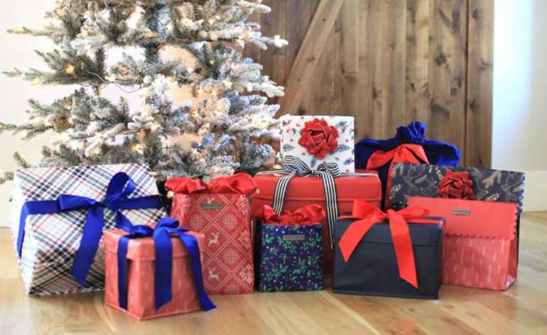 everwrap reusable gift collection