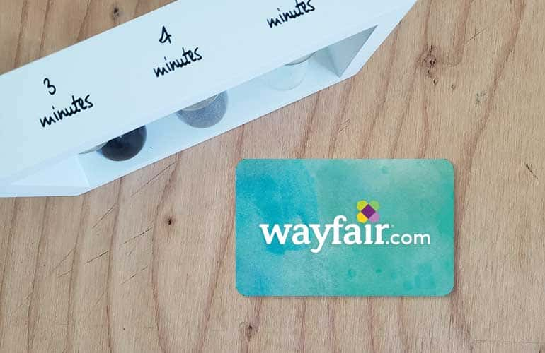 wayfair gift card to gear up for work at home