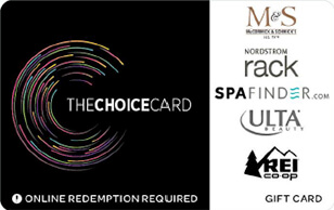 Choice Card gift card