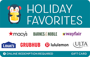Holiday Favorites - Penguin eGift card