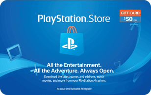 Sony PlayStation Gift Card